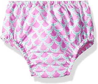 Swim Time Baby Girls' Reusable Swim Diaper UPF 50+ with Side Snaps