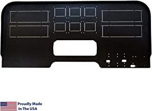 Flight Velocity Mid Profile Cockpit Panel Compatible with Saitek/Logitech G Flight Sim Hardware