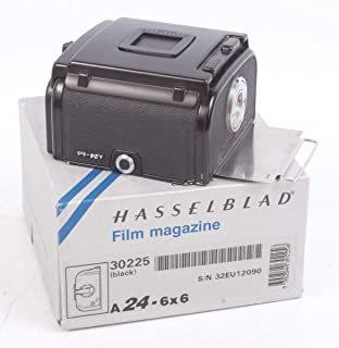 A24 6X6 Film Back for HASSELBLAD 503CW, 501CM, 500CM, 201F and 2000FC, in Box