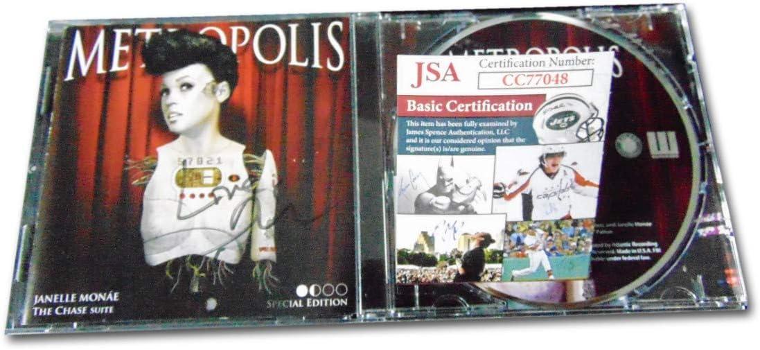 Time sale ! Super beauty product restock quality top! Janelle Monae Signed Autographed CD JSA Metropolis CC770 Booklet