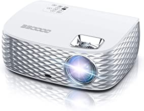 Projector, GooDee HD Video Projector Native 1920x1080P, Outdoor Movie Projector 7500L 300'' Touch Keys Home Theater Projec...