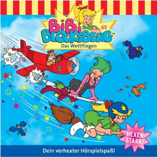Das Wettfliegen audiobook cover art