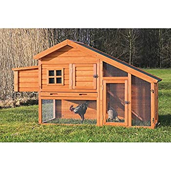 Trixie Chicken or Rabbit Coop with a View