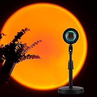 GTTFAE Sunset Lamp Dimmable,lampe Coucher De Soleil La Veilleuse a Une Lumière Ambiante Visuelle Romantique, Ce Qui Est Tr...