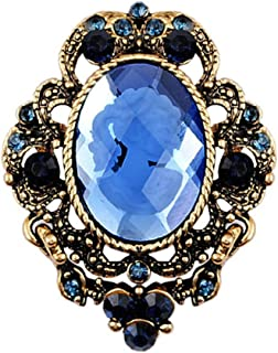 bastoni gioielli vintage elegante stile vittoriano signora cammeo spilla pendente goccia spille spille elegante regalo pin...