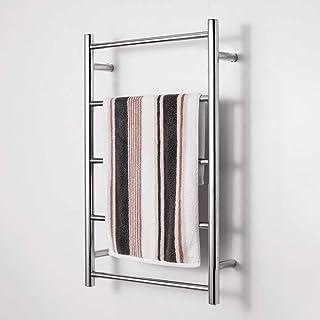 Radiador de toallas inteligente, toallero eléctrico de acero inoxidable 304,estante de baño de hotel de 35 W,secador de toallas,puede soportar 38 KG,temperatura constante de secado 800X500X120mm