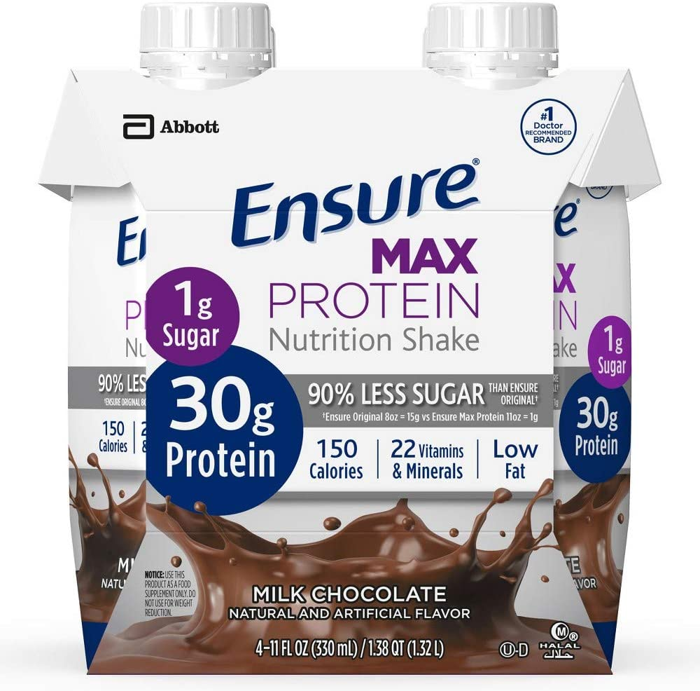 Ensure Max Protein Nutritional Shake of Pack 6 Animer and price revision - Chocolate 67% OFF