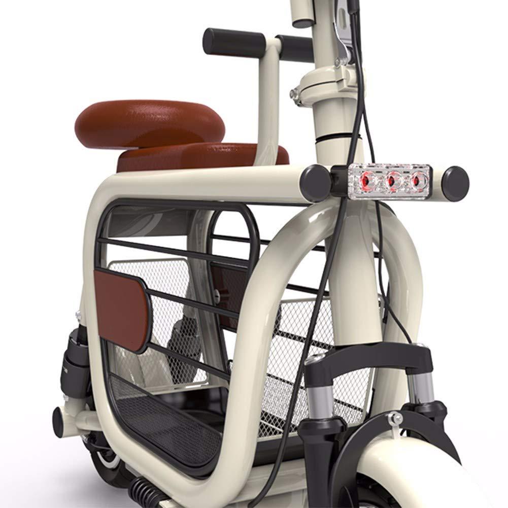 Embid Scooter eléctrico, Bicicleta eléctrica Plegable Conveniente ...