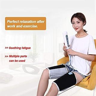 空気循環レッグマッサージャーは循環を促進し、電動空気圧縮レッグラップは足のふくらはぎと腕のマッサージをハンドヘルドコントローラーで緩和し、筋肉の痛みを和らげます,Uk plug
