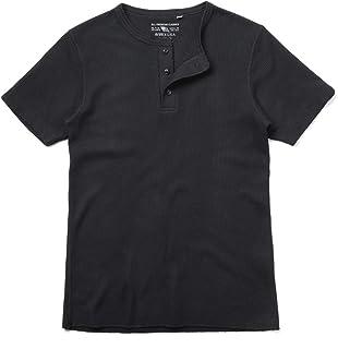 AVIREX アビレックス デイリーウエア 6173314 S/S サーマル ヘンリーネック Tシャツ 【ネコポス便】