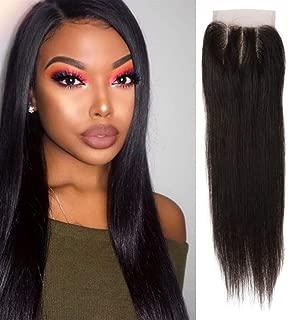 Nkns Lady Wig, Real Hair, Straight Hair, BlackClown Wig