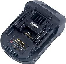 Biswaye 20V Battery Adapter for Makita 18V Lithium Tools, Convert Black+Decker Porter-Cable 20V Lithium Battery LBXR20 PCC685L to Makita 18V Lithium Battery BL1820 BL1830 BL1840 BL1850 BL1815