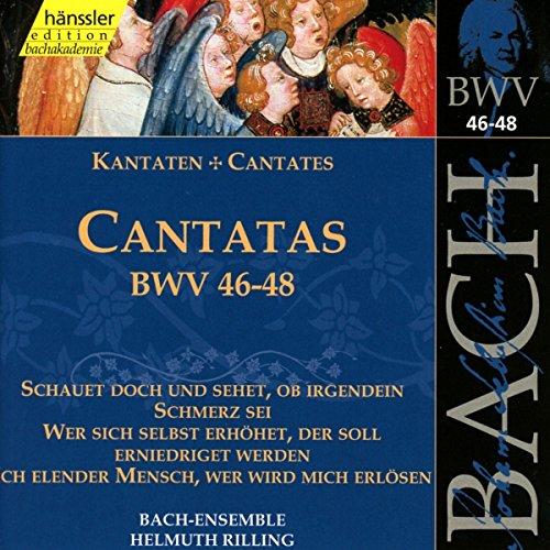 Bach J S : Cantatas, Bwv 46-48