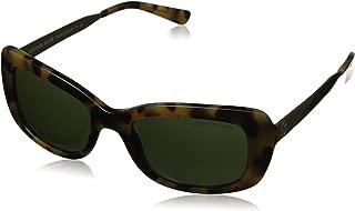 MK2061 324471 Dark Vintage Tortoise Rectangle Sunglasses for Womens