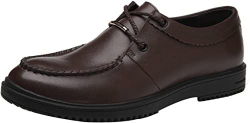 GTYMFH Herren Schuhe Business Schuhe Leder Leichte Freizeitschuhe Herren Gezeiten Schuhe