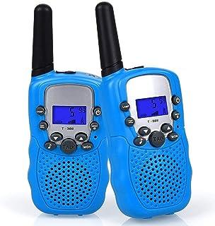 comprar comparacion WANFEI Walkie Talkies Niños, Walky Talky Niños 3KM Largo Alcance con 8 Canales Función de VOX Linterna LCD, Inalámbrico In...