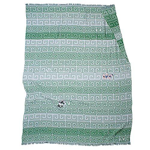 Zoeppritz SILLY LEG Decke – Plaid aus 100% weicher Baumwolle – 145x190 cm – hochwertige Webung – Original Disney Design