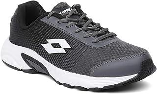 Lotto Men's Jazz Dk. Grey/Blk Running Shoes-6 UK/India (40 EU) (F6R4620-201)