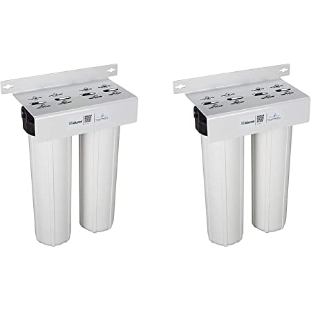 Home Master Hmf2smgcc Whole House Two Stage Filtration System Water Filter Pack Of 2 Home Kitchen