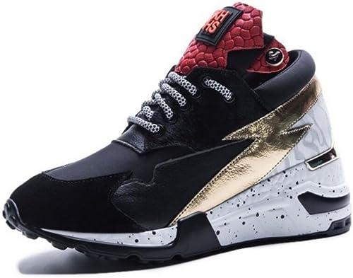 GAOLIXIA GAOLIXIA Femmes Les Les dames Sport Chaussures Printemps en Cuir paniers Plat Décontracté Chaussures Léger Gym Sports Chaussures de Course
