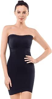Womens Strapless Shapewear Full Body Slip Shaper Light Seamless Slip for Under Dresses