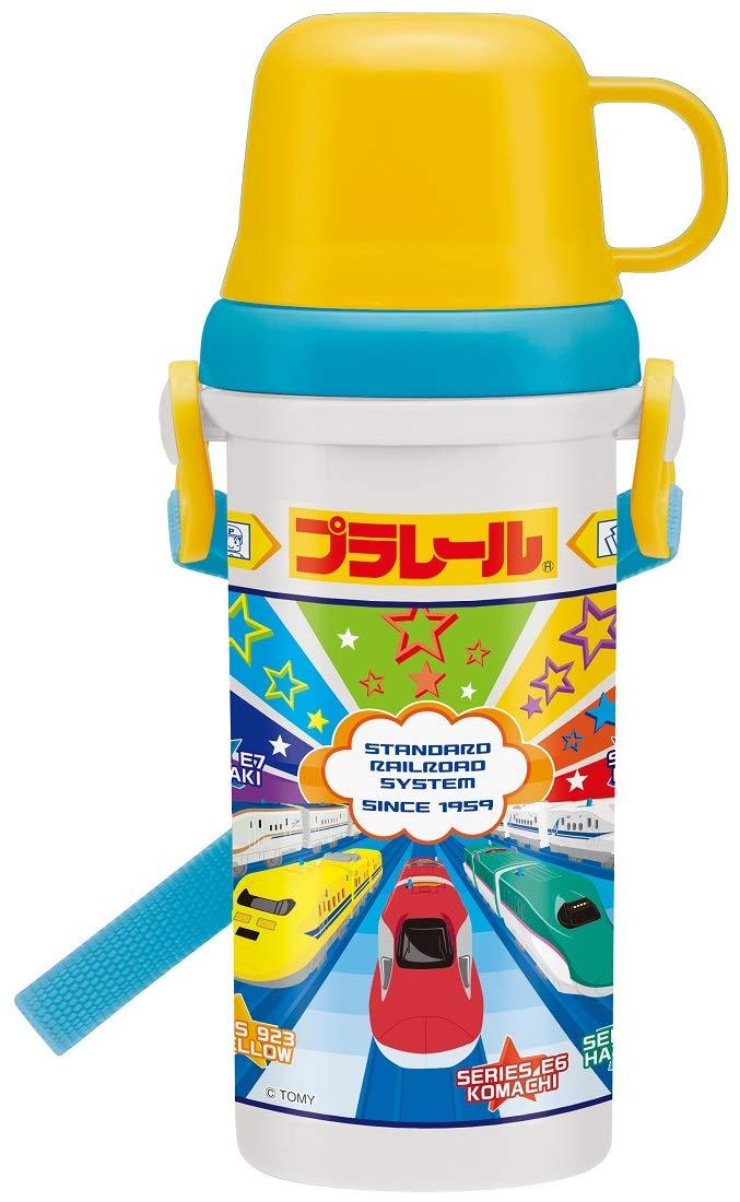 スケーター 子供用 水筒 コップ付き 480ml プラレール 19 ディズニー PSB5KD