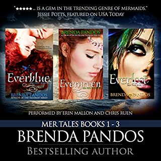 Mer Tales Box Set (Books 1-3)                   By:                                                                                                                                 Brenda Pandos                               Narrated by:                                                                                                                                 Erin Mallon,                                                                                        Chris Ruen                      Length: 29 hrs and 7 mins     39 ratings     Overall 4.1