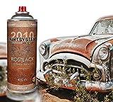 Rosteffektspray rostbraun 400ml Spraydose