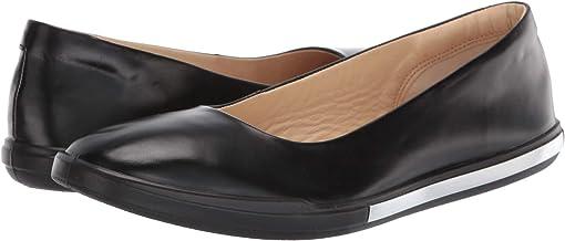 Black Calf Leather