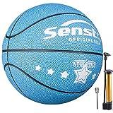 Senston Balon de Baloncesto Fluorescente Balones Baloncesto para Pelota Baloncesto de Tamaño 5