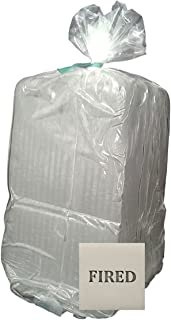 Aurora Pottery - Whiteware Clay (Lo-Fire) - Pottery Clay Fires White - Smooth Texture (15 Pounds)