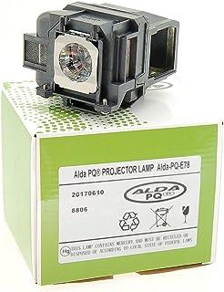 Alda PQ Premium, beamerlamp voor EPSON EH-TW5200 projectoren, lamp met behuizing