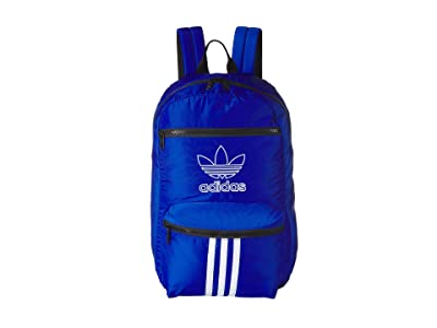 adidas Originals Originals National 3-Stripes Backpack (Collegiate Royal) Backpack Bags