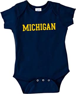 NCAA Officially Licensed College - University Team Color Basic Creeper Bodysuit