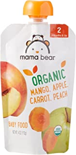 Amazon Organic Pouch Stage Carrot