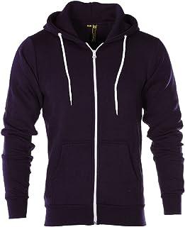 b6b84f56a Raiken® Apparel Flex Fleece Zip Up Hoody Hoodie Jumper Mens Size
