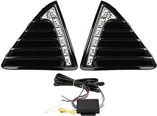 KIMISS 1 Pair Car Daytime Running Light Turn Signal Dual Model DRL LED Lights for Ford Focus MK3 12-14