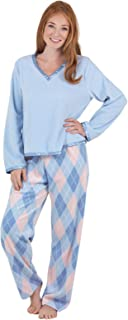 Image of A Popular Pick: Snuggly Soft Fleece Pajamas for Women - See More Colors