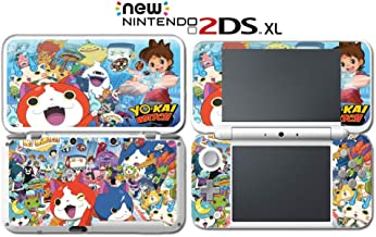 Yo-kai Watch Blasters: Red Cat Corps White Dog Squad Video Game Vinyl Decal Skin Sticker Cover for Nintendo New 2DS XL System Console