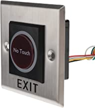 Homyl 12V DC Door Infrared No Touch EXIT Button Switch Sensor With LED Backlight #K2-1