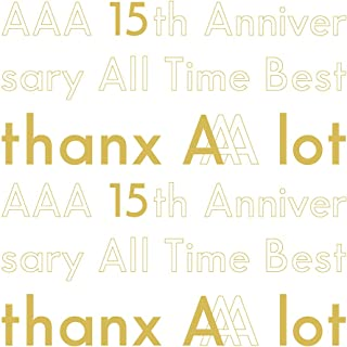 【Amazon.co.jp限定】AAA 15th Anniversary All Time Best -thanx AAA lot-(AL5枚組)(初回生産限定盤)(A4クリア...