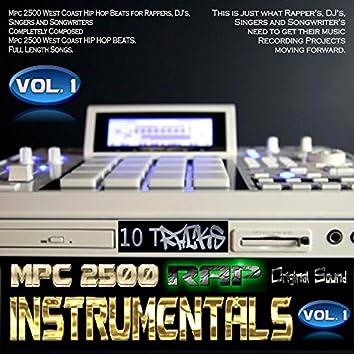 MPC 2500 Rap Instrumentals, Vol. 1