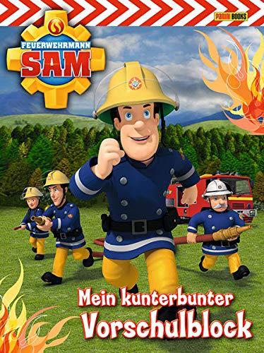 Feuerwehrmann Sam Vorschulblock: Mein kunterbunter Vorschulblock