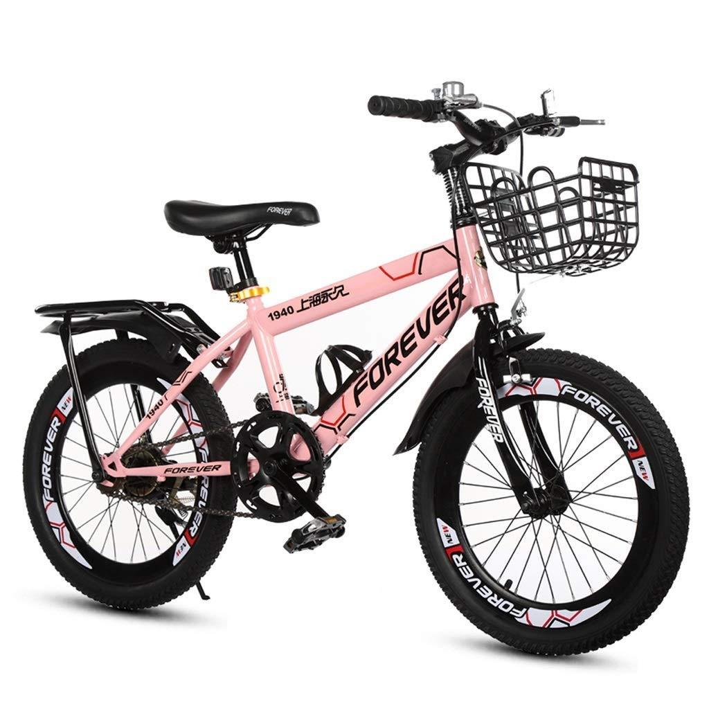 SGMYMX Bicicleta para niños Bicicleta for niños niña Bicicleta ...