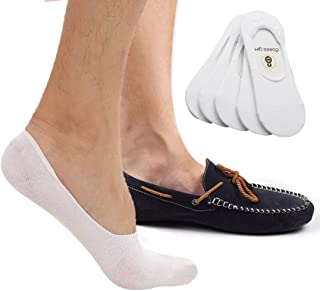 Calcetines cortos - para hombre Blanco White-5 Pairs Large
