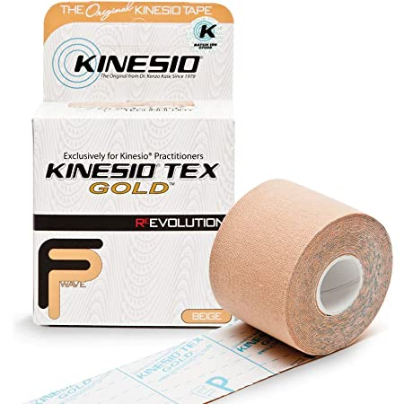 Kinesio Taping - Elastic Therapeutic Athletic Tape Tex Gold FP - Beige - 2 in. x 13 ft