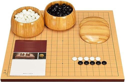 más vendido WHSS Go Game, Chessboard 13 13 13 Road 19 Road Doble Cara Madera Adulta (Color   B)  Venta en línea precio bajo descuento