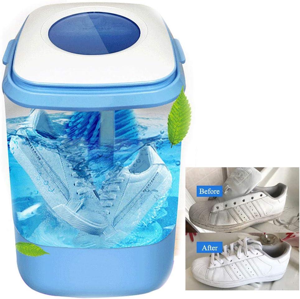 HEWXWX Lavadora De Zapatos 3 En 1 / Lavadora/Deshidratador, Lavar Zapatos Mejor Asistente - Limpieza De 360 ° / Eliminar Olor/FuncióN De SincronizacióN - Ideal para Familias