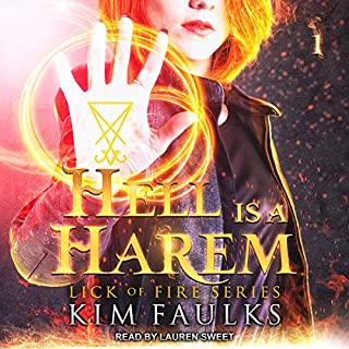 Hell Is a Harem audiobook cover art