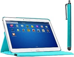 ebestStar - Compatibile Cover Samsung Galaxy Tab 4 10.1 SM-T530, T533 T531 T535 Custodia Protezione Pelle PU con Supporto Rotazione 360 + Penna, Blu [Apparecchio: 243.4 x 176.4 x 8mm, 10.1'']